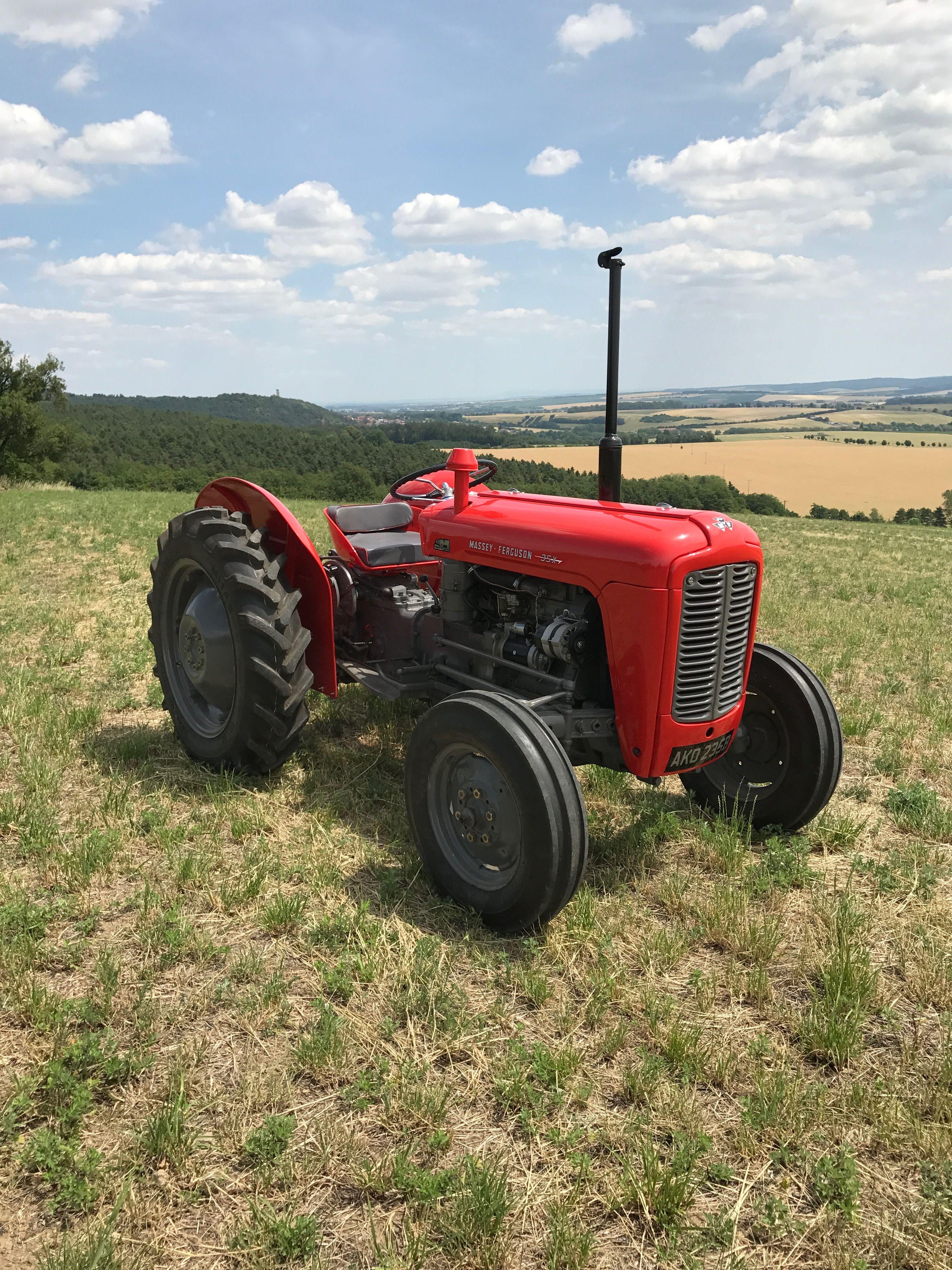 Tractor Pulling Calendario 2020.1962 Massey Ferguson 35x Farm Dreams Tractors Old