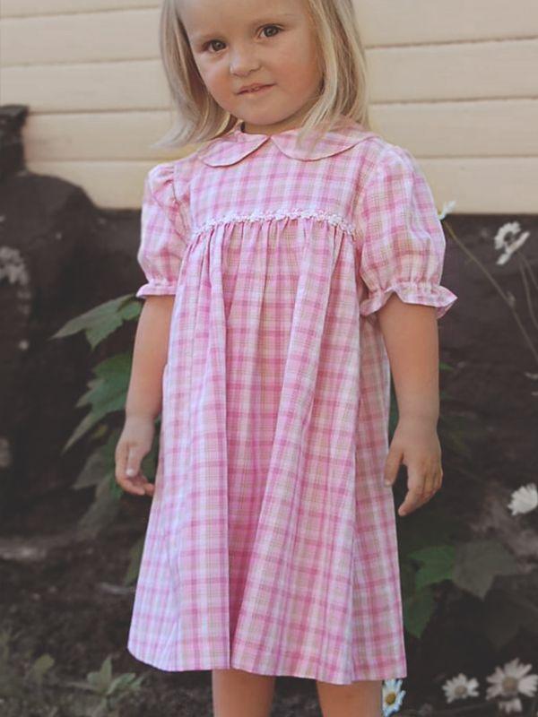 2ef9db2857a3 Barnklänning madicken, rosa puffärm - 100 Years | Kids Clothes ...