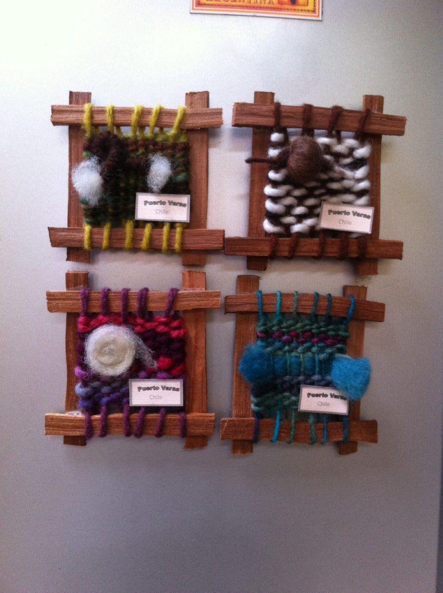 telares imanes para refrigerador   lana   Pinterest   Imanes para ...