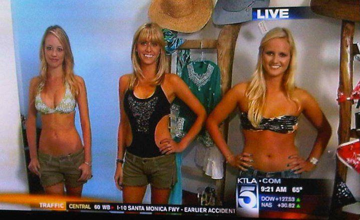 Pull In Swimwear on KTLA Morning News