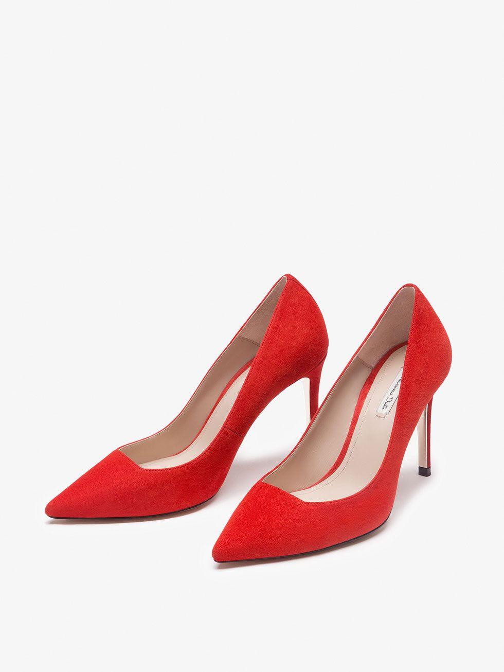SALÓN METÁLICA PIEL ANTE de MUJER - Zapatos - Zapatos de Tacón de Massimo  Dutti de Primavera Verano 2017 por 1995. ¡Elegancia natural! d97286edfba2