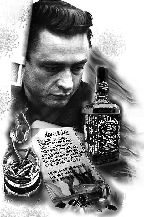 Luv This Picture Of Him Johnny Cash Tattoo Johnny Cash Johnny Cash Art