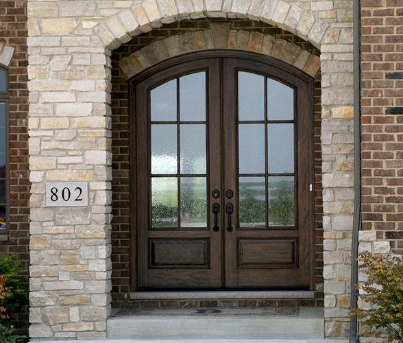 arched double front doors. WOOD DOORS, EXTERIOR DOORS,MAHOGANY DOORS,ENTRY CANTON . Arched Double Front Doors O