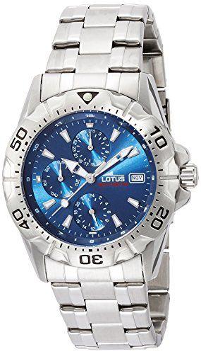 0862b2602daa LOTUS 15301 2 Reloj de Caballero de Cuarzo