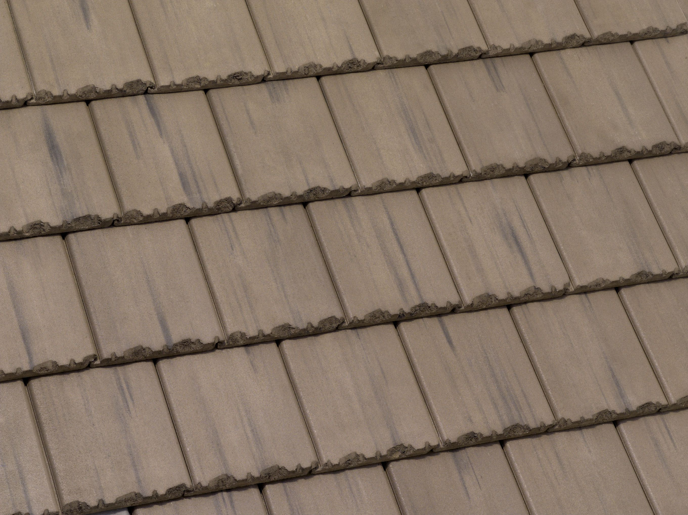 49581 Tapered Slate Arcadia Canyon Brown Concrete Roof Tiles Roofing Slate Tile