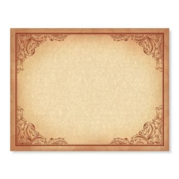 Engraved Scroll Standard Certificates Parchment design and - certificates of recognition templates