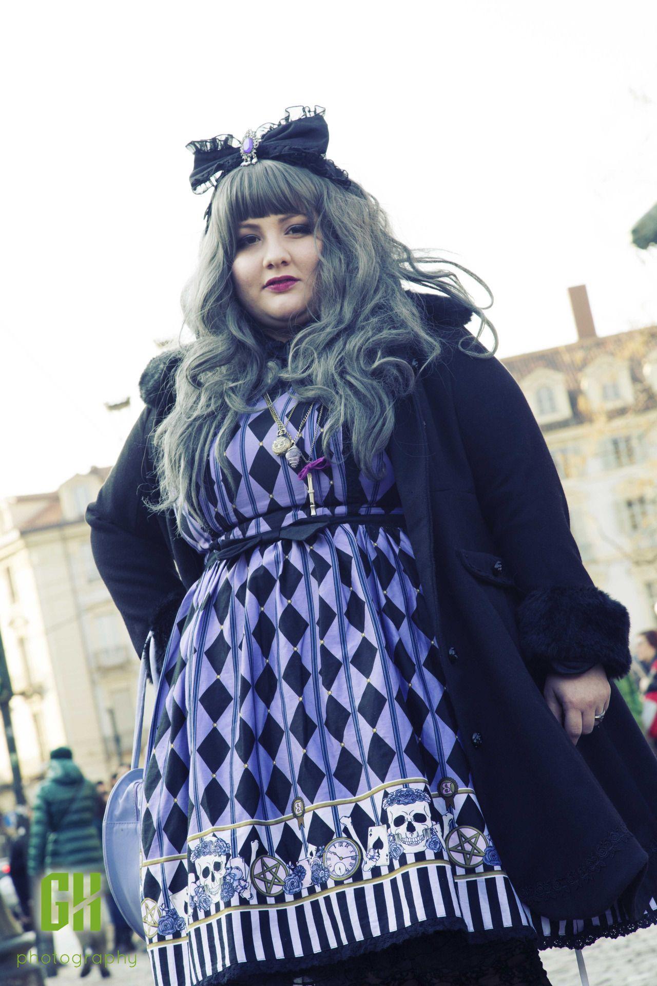 Gorgeous plus sized lolita fashion examples. | Loli Couture ...