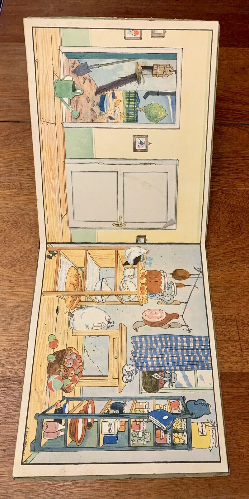 Our Little Doll S House Pop Up Movable Antique Book 1923 Ebay Paper Doll House Antique Books Paper Dolls