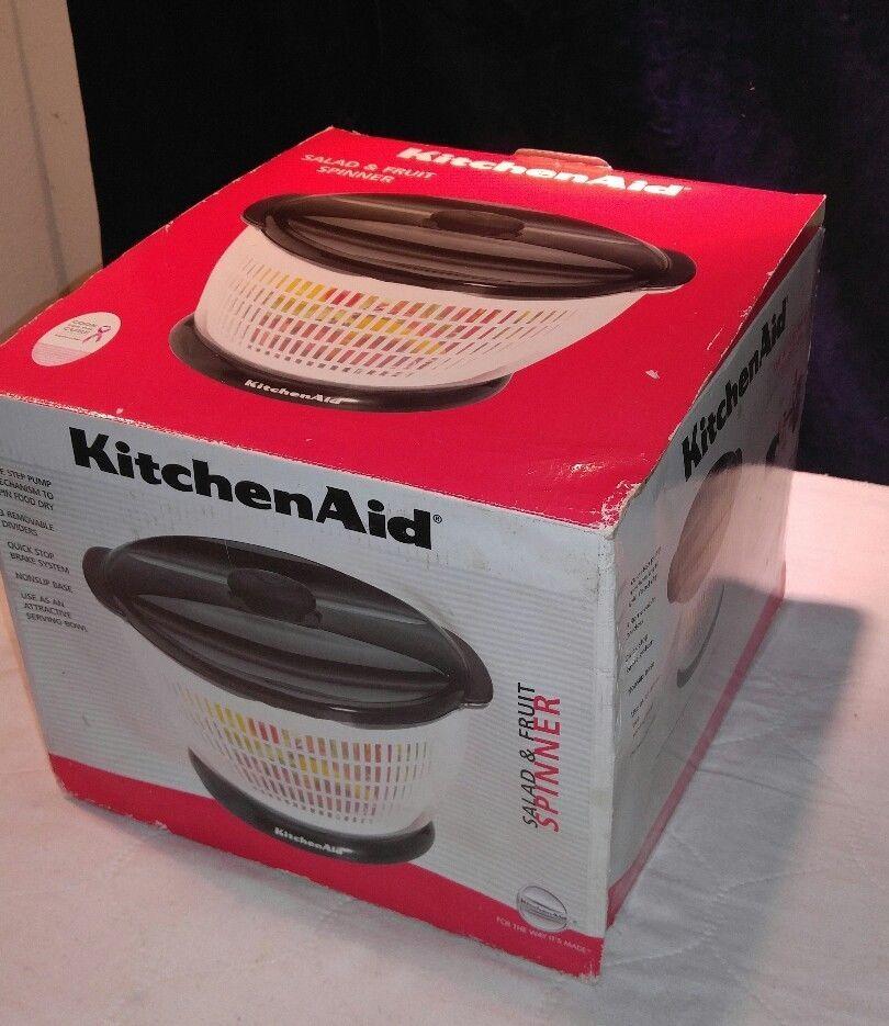 New Kitchen Aid Fruit & Salad Spinner #KitchenAid   Cool ...
