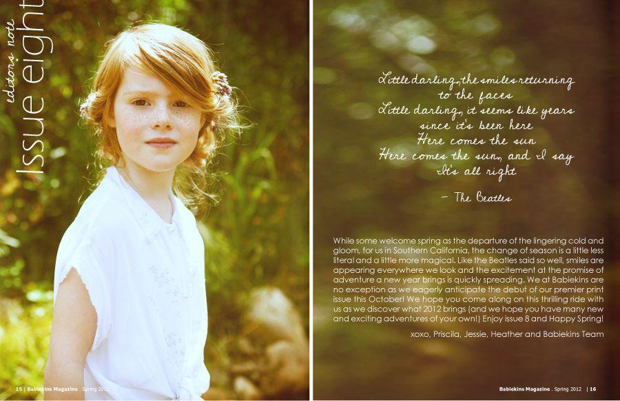 photo: Justin Badenhorst for Babiekins magazine, issue 8