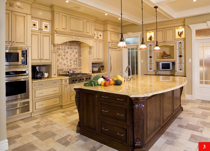 Kitchen With Center Island kitchen island designs | kitchen center island ideas « kitchen