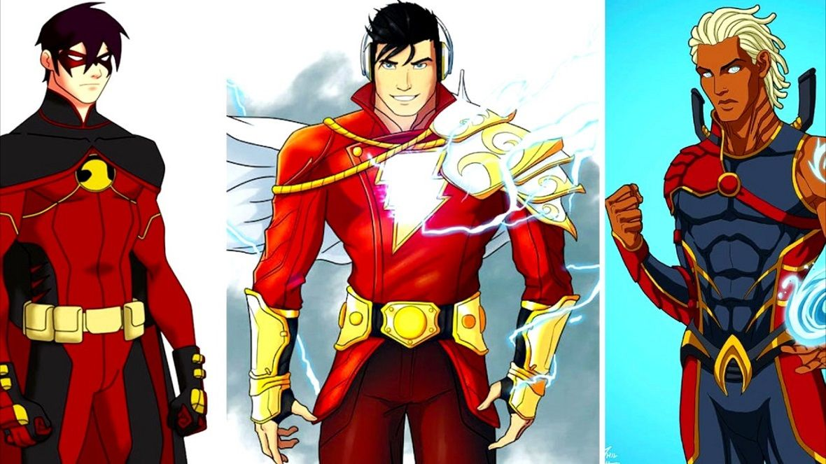 Young Justice Is A Dc Animated Superhero Show Young Justice Season 4 Young Justice Season Young Justice
