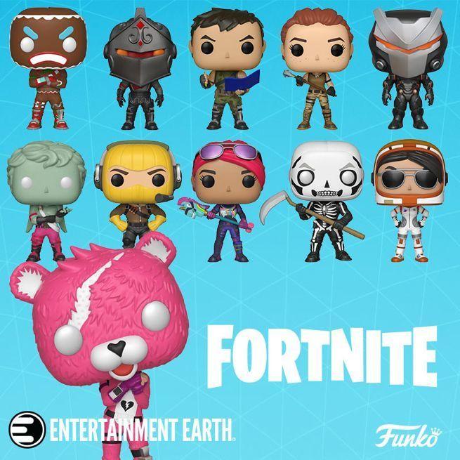 New Fortnite Funko Pops Include Rex And Dark Voyager Fortnite