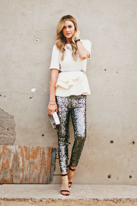 new years eve outfit idea peplum top sequin pants dash of darling square 3f7fb5c5a