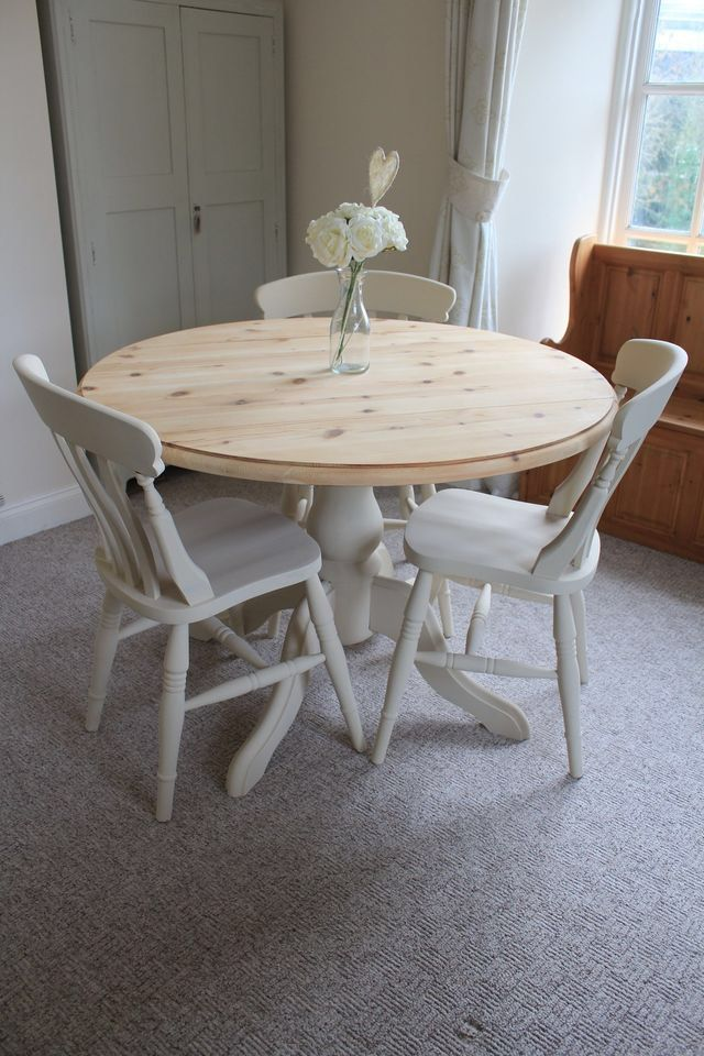shabby chic dining table my style household ish pinterest shabby chic dining shabby and. Black Bedroom Furniture Sets. Home Design Ideas