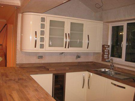 Kitchen Ideas Nottingham cooke & lewis high gloss cream kitchen | kitchen installation in