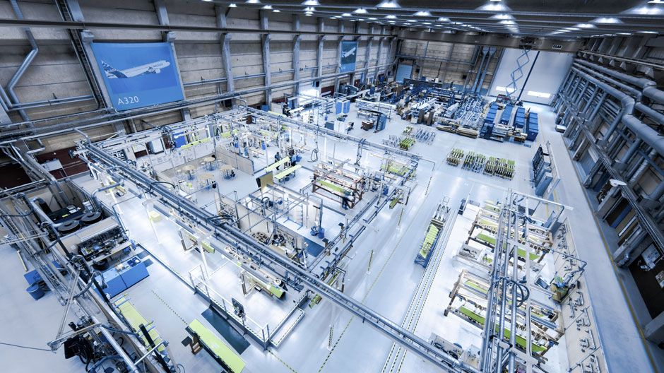 Saab Aerostructures production facility in Linköping, Sweden