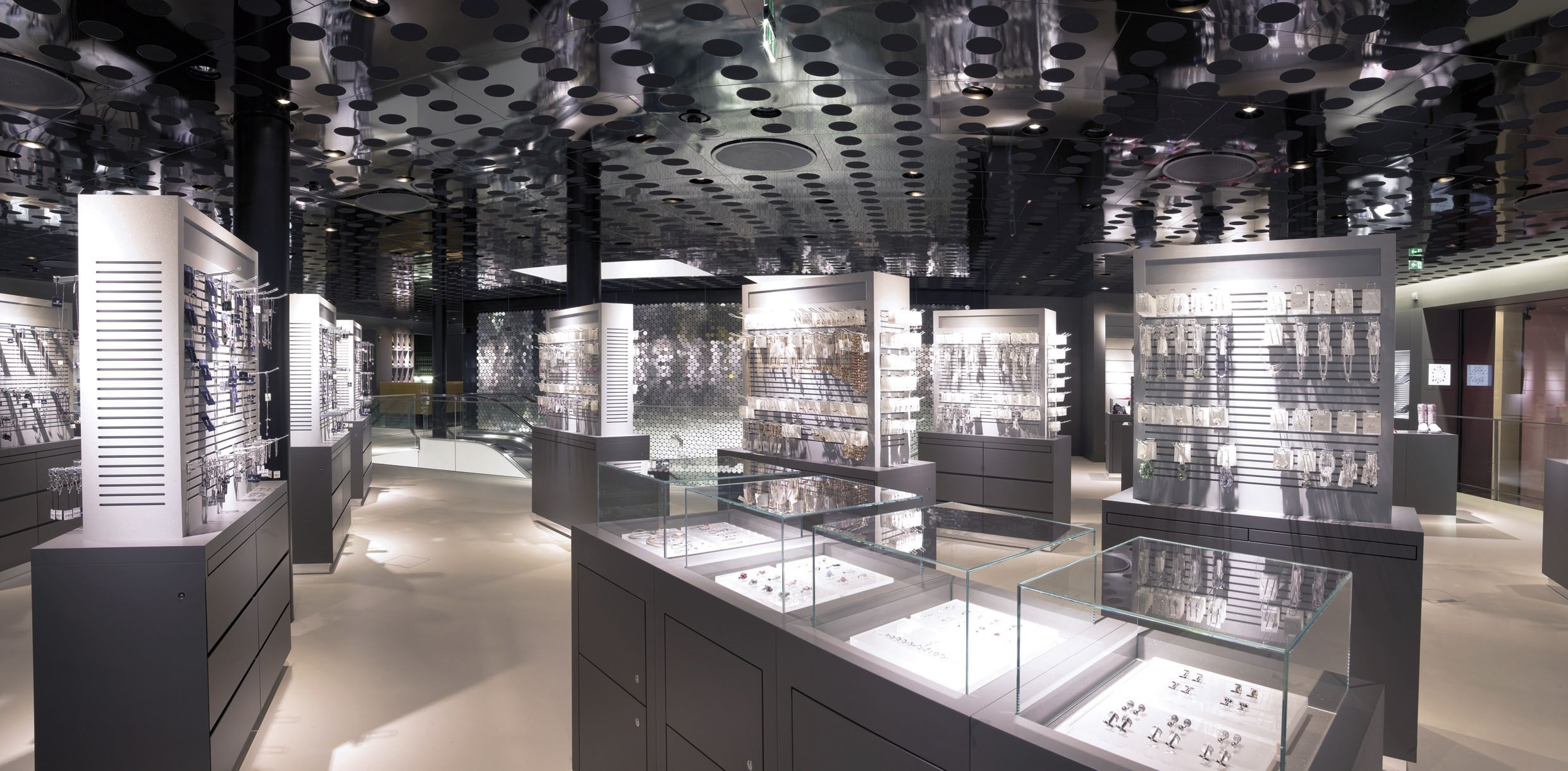 As one of the largest swarovski stores worldwide for Interior design innsbruck