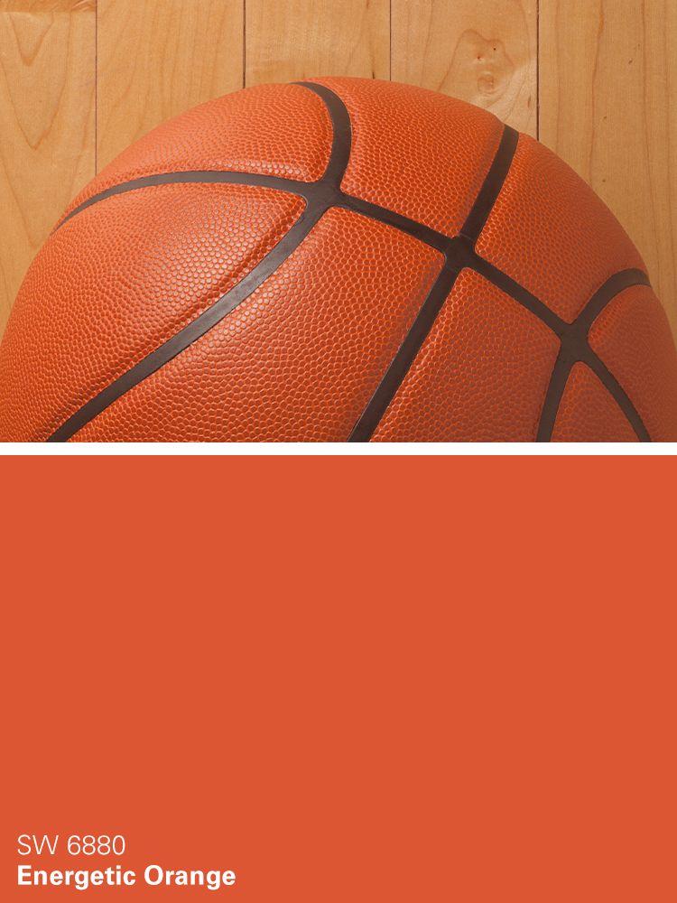 Energetic Colors sherwin-williams paint color – energetic orange (sw 6880) | man