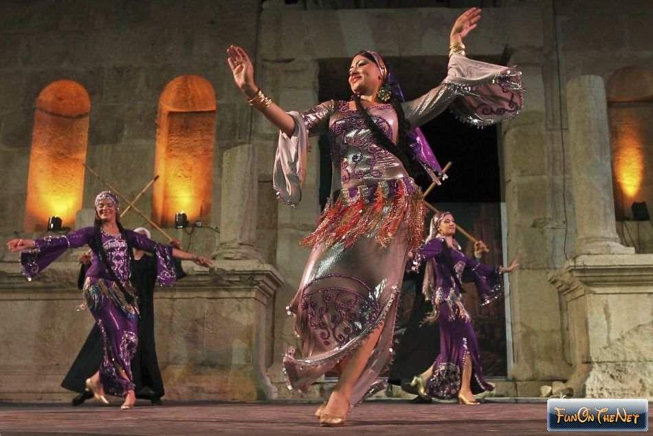 Jerash Festival in Jordanië
