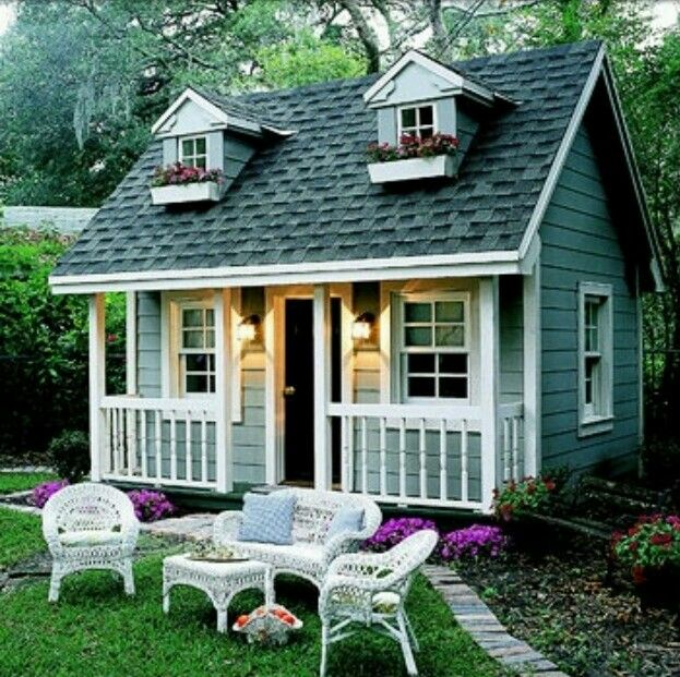In Laws Apartment Shed Playhouse Backyard Playhouse Small House