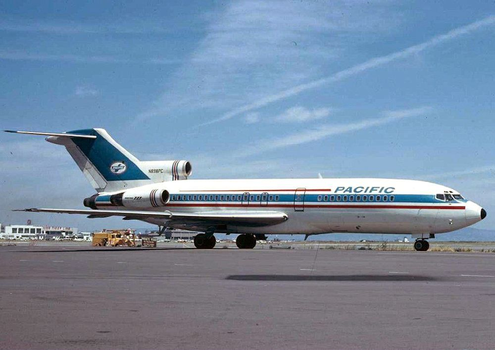 Pacific Air Lines Boeing 727