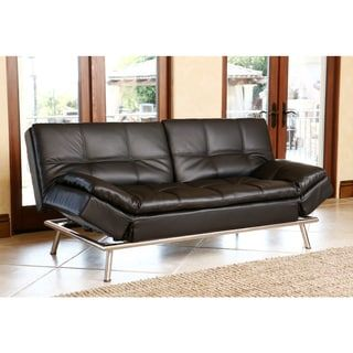 Abbyson Marquee Black Convertible Sofa | House Items | Best ...