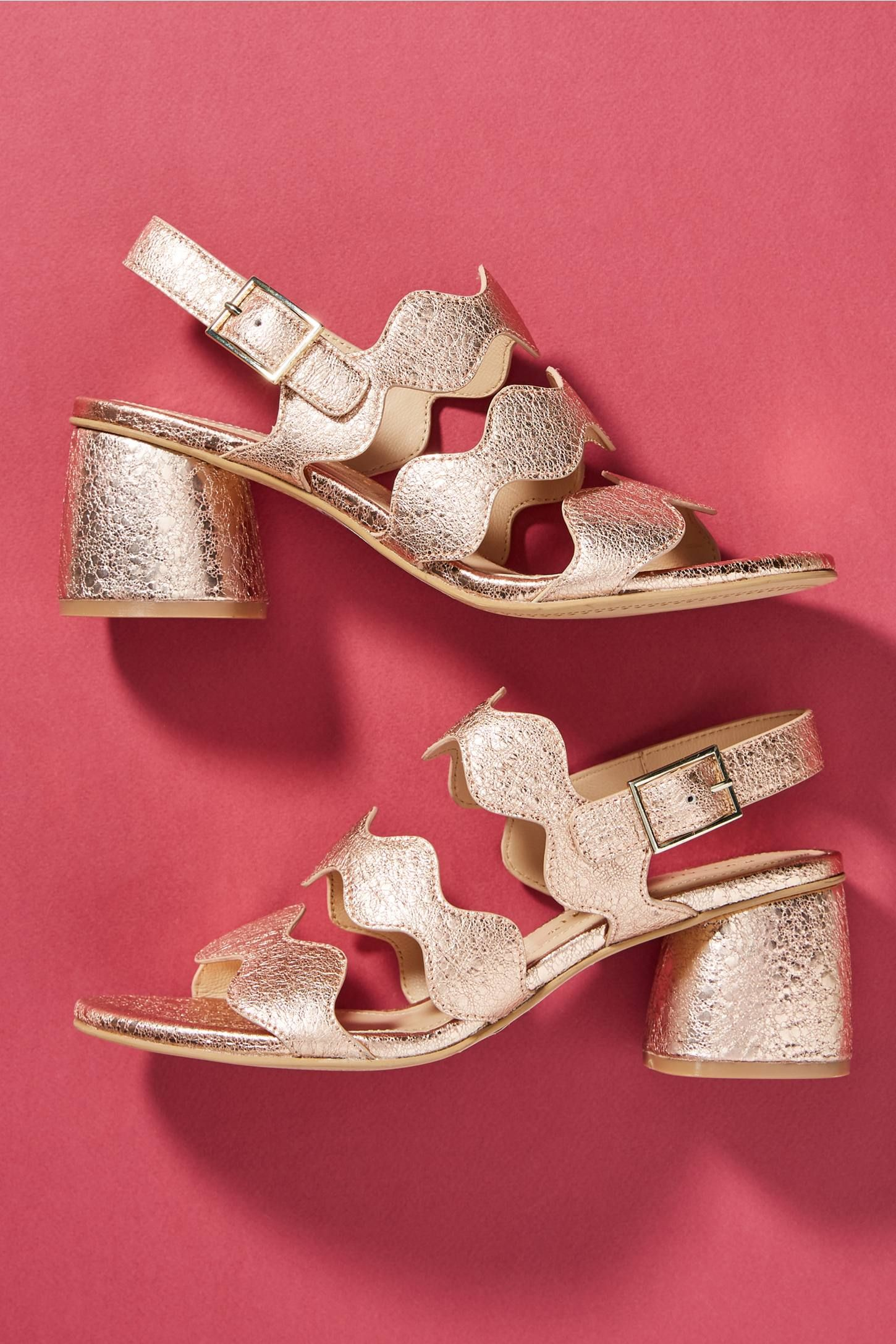 Scalloped Game~ Heeled SandalsShoe Sandals~shoe Bruno Premi iTwXlZuOPk