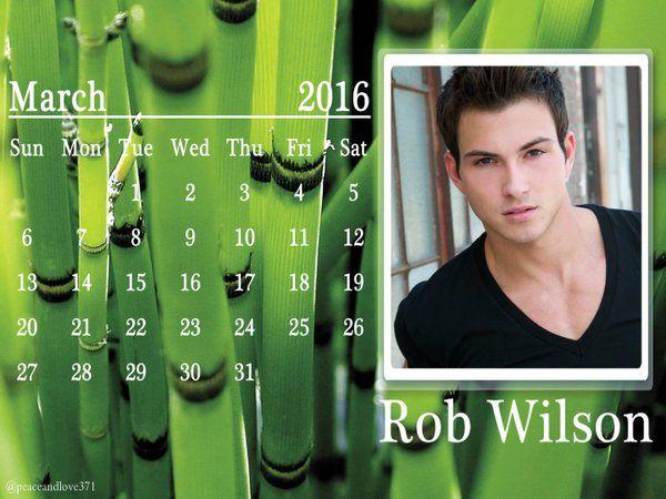 Photos and videos by Lisa Marie (@peaceandlove371) | Twitter Robert Scott Wilson March 2016 Calendar