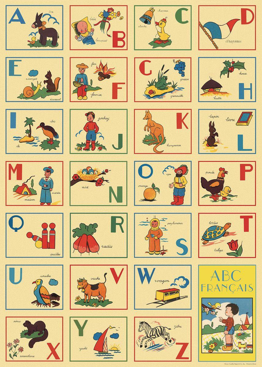Cavallini & Co - Alphabet #1 | Cavallini & Co - Charts | Pinterest ...