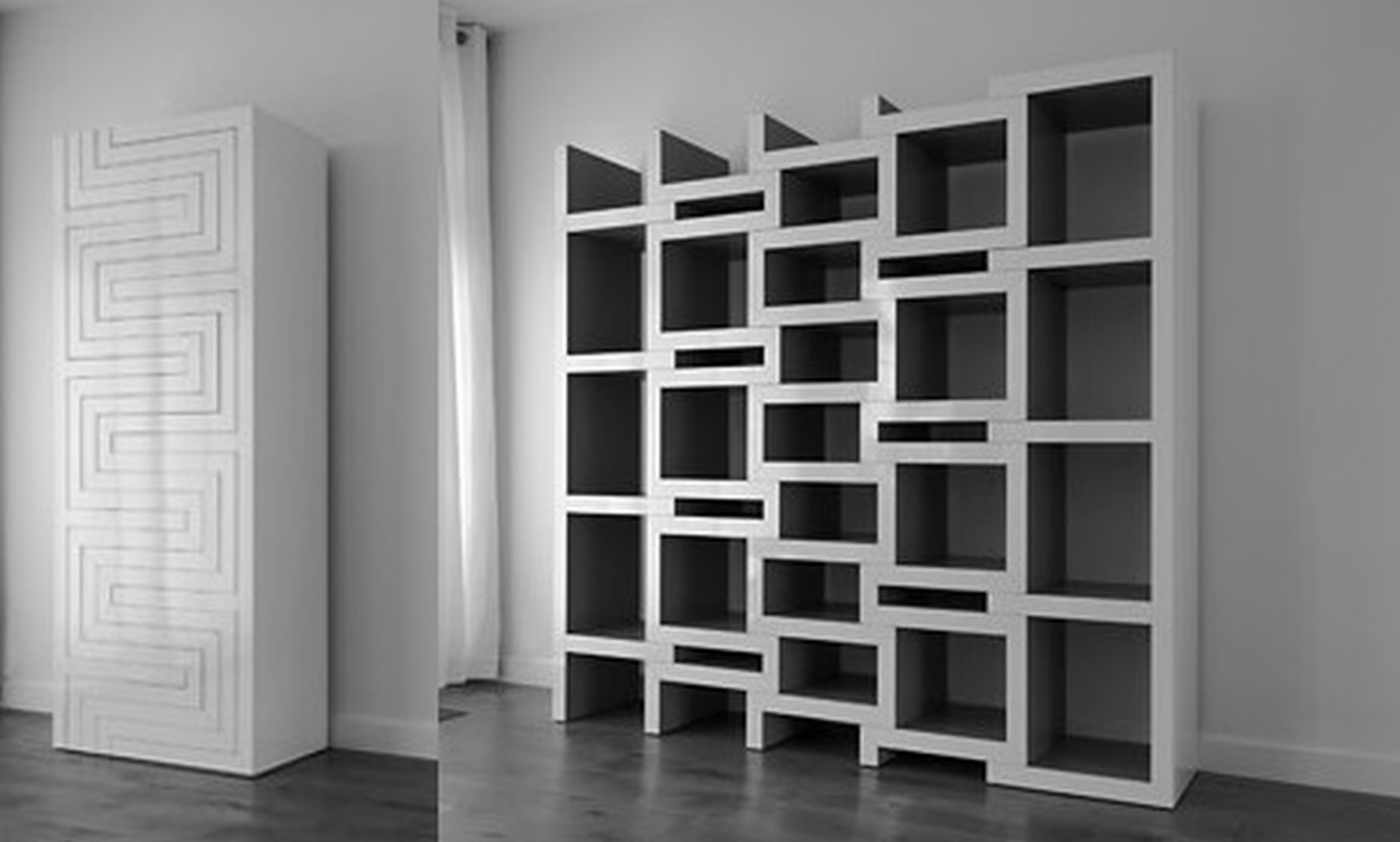 great design bookshelf room looking simple leaning living bookshelves for bookcase wooden wall interesting ideas creative a divider