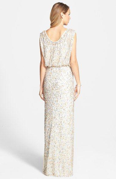 c806e1d1 JS Collections Blouson Bodice Sequin Mesh Gown | Nordstrom ...
