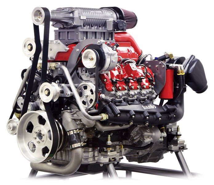 Centrifugal Supercharger For Motorcycle: Gale Banks Duramax Diesel