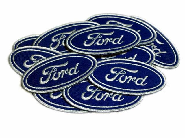Ford Logo Patches Speed Motor Car F350 Biglot 15pcs Biker