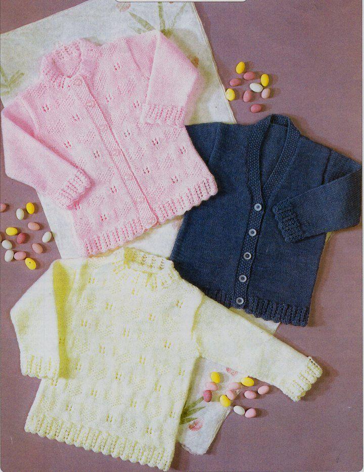 Baby girls Sweater Cardigans Baby Knitting Pattern PDF Baby girls ...