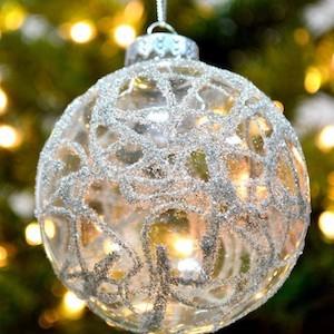 120 Diy Clear Glass Christmas Ornaments Clear Christmas