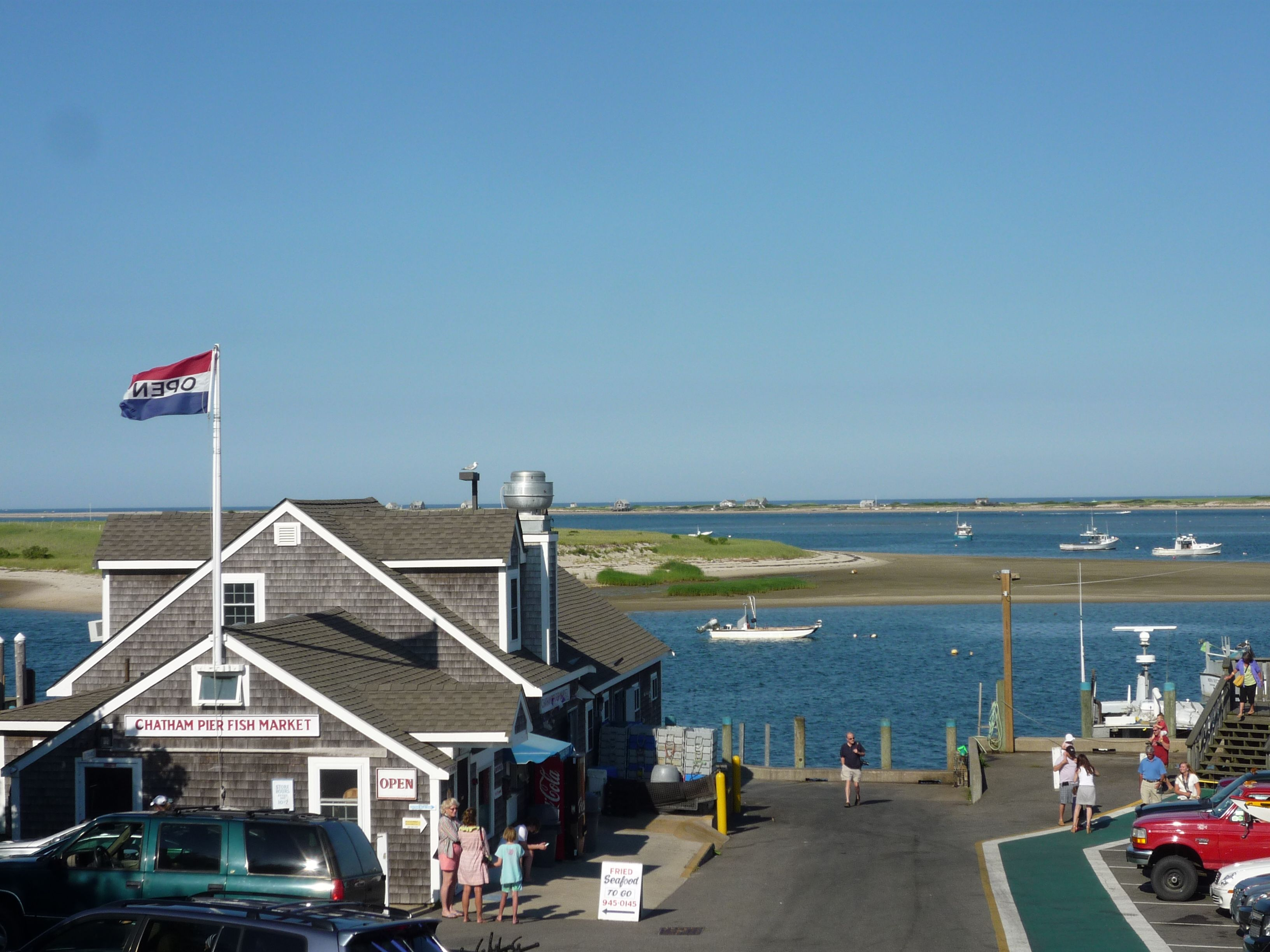Chatham Fish Pier - one of our favorite annual places to hang ...