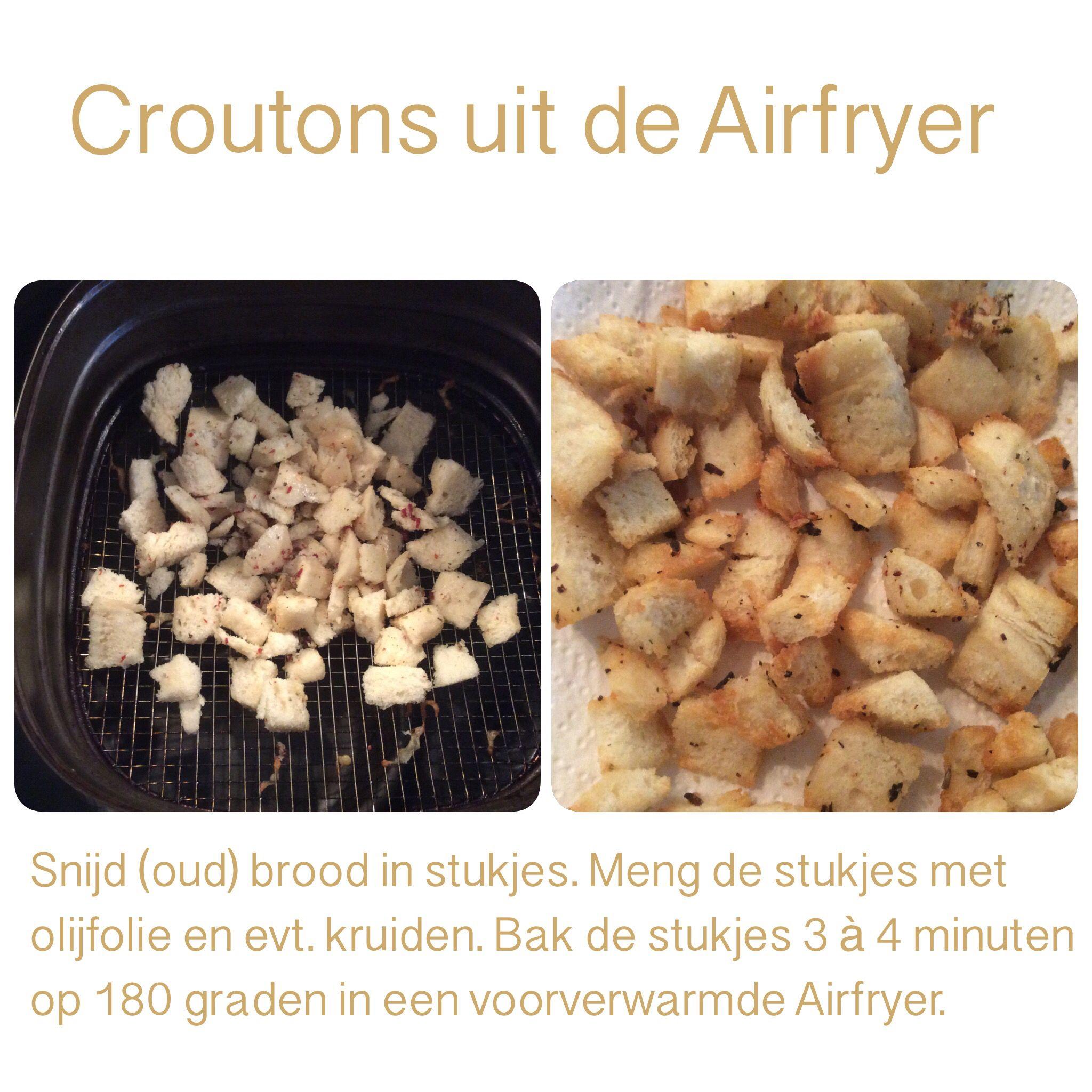 Pin Op Koken Recepten Airfryer