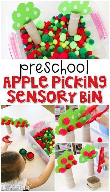 20+ Apple Activities for Preschool to Plan your Week Now - Mrs. Plemons' Kindergarten