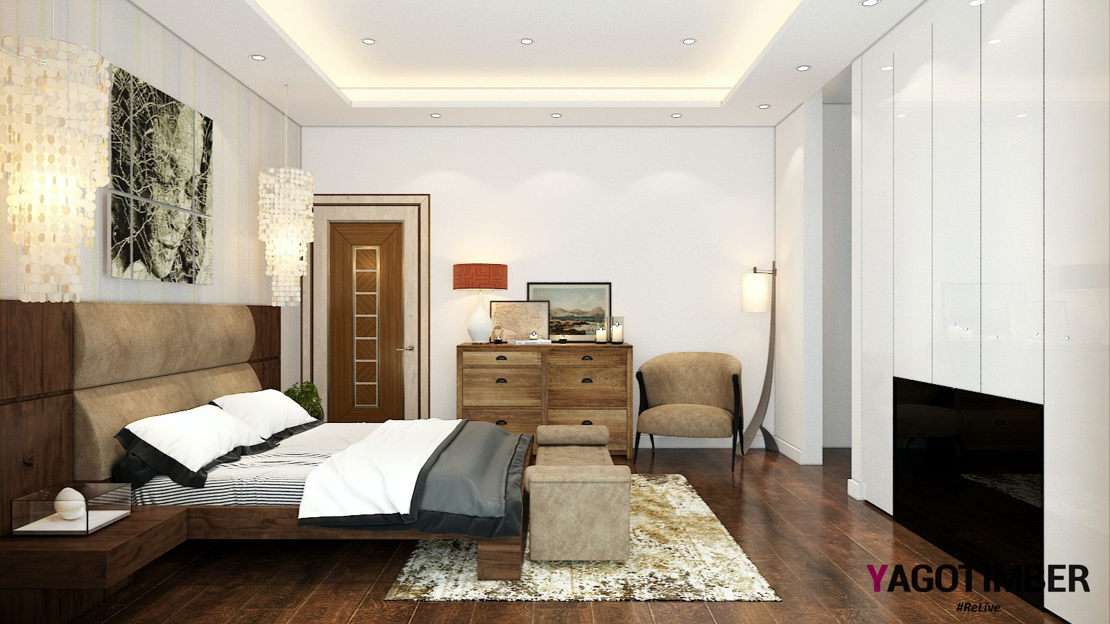 Designing Bedroom Yagotimber Presents A Modern #bedroom Design Look For Your Dream