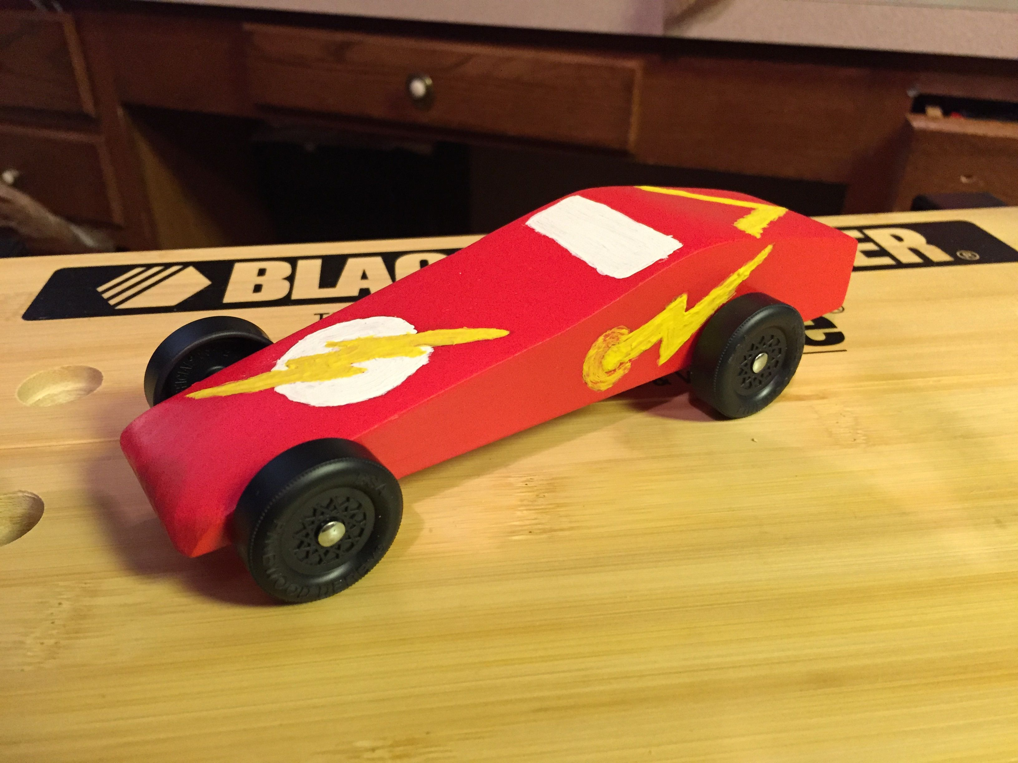 I Made A Batmobile Pinewood Racer Batman
