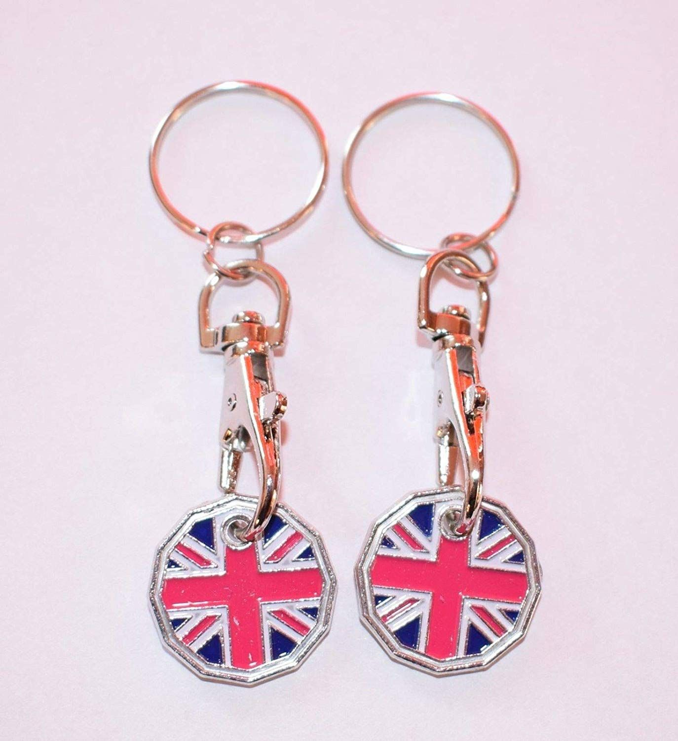 Armed Forces Day Keyring Trolley Token