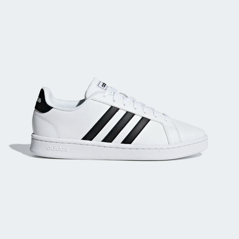Grand Court Shoes White Womens | Adidas shoes women, Court