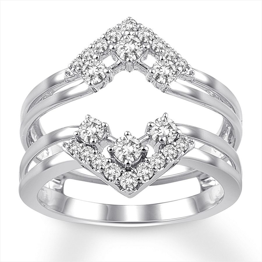 70 Limited Jared Ring Enhancers Cu38142 Jared Rings Ring Enhancer Diamond Anniversary Bands