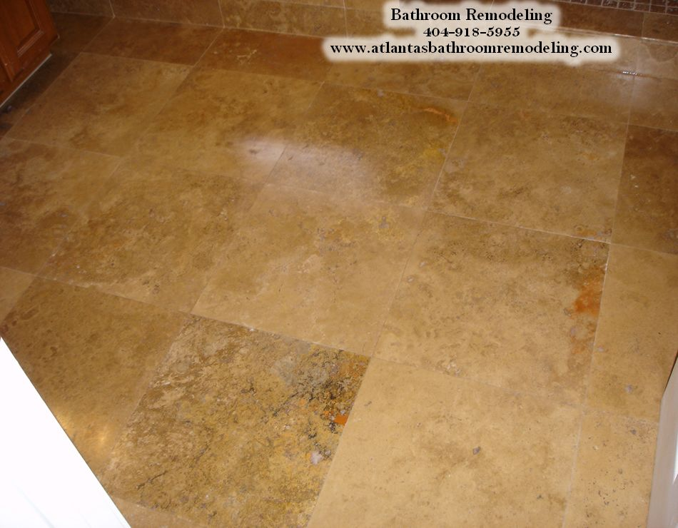 Travertine Flooring Ideas Bathroom Floor 16 X 16 Travertine