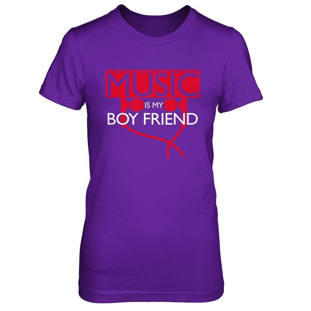 Music Is My Boyfriend - Shirts