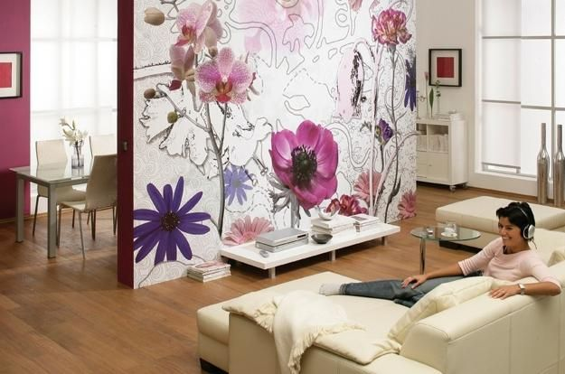 digital prints and photo wallpaper designs for modern interior decorating