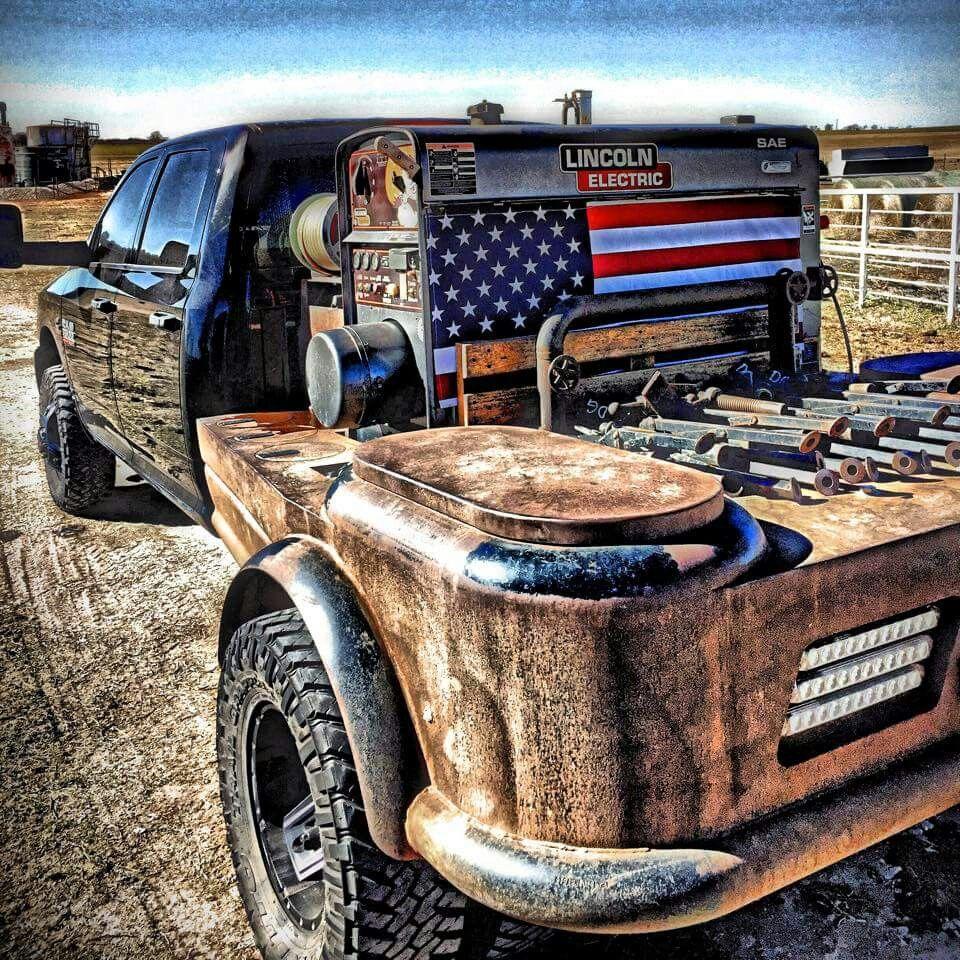 Custom Welding Beds For Trucks