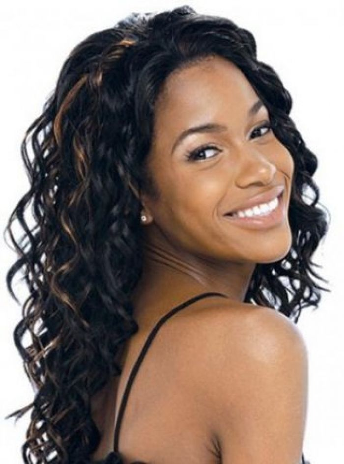 Latest Black Hair Extensions Wedding Pinterest Black Hair