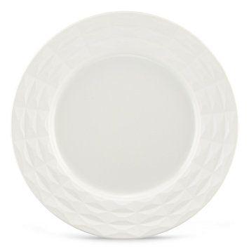 kate spade new york Castle Peak Cream Dinner Plate by Lenox